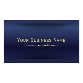 Classy Royal Blue Business Card