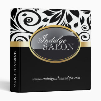 Classy Salon and Spa Appointment Binder