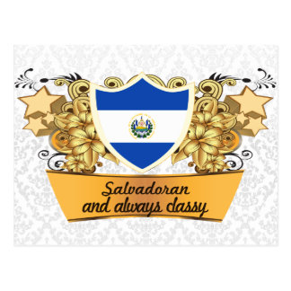 Classy Salvadoran Postcard