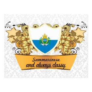 Classy Sammarinese Postcard