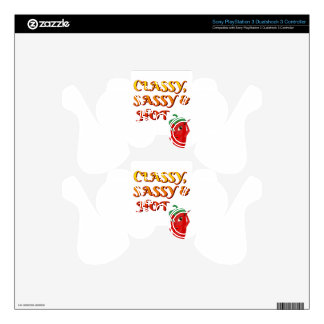 Classy Sassy And Hot Pepper Diva Skins For PS3 Controllers