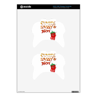 Classy Sassy And Hot Pepper Diva Xbox 360 Controller Skins