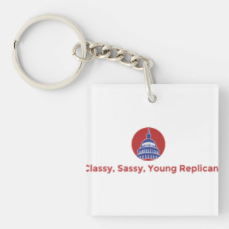 Classy, Sassy, Young Republican Keychain