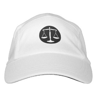 Classy Scales of Justice Headsweats Hat