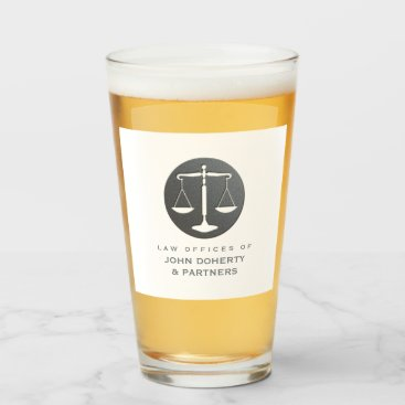 Classy Scales of Justice   Law Office Glass