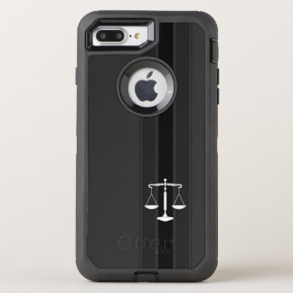 Classy Scales of Justice | Law Office OtterBox Defender iPhone 7 Plus Case