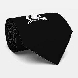Classy Shark Black Tie