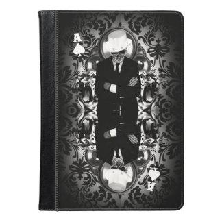 Classy skull ace of spades iPad air case