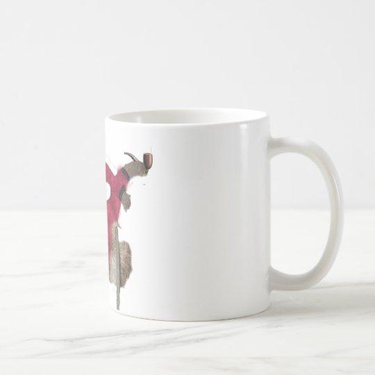 classy sloth coffee mug