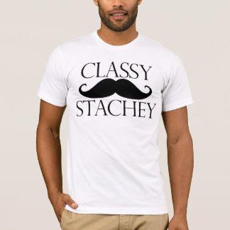 Classy Stache Mustache T-Shirt