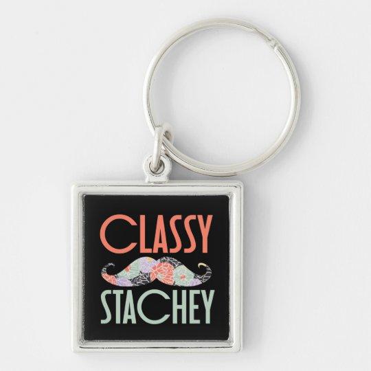 Classy Stachey Keychain
