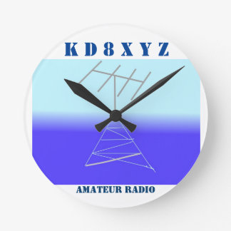 Classy station clock for amateur Radio