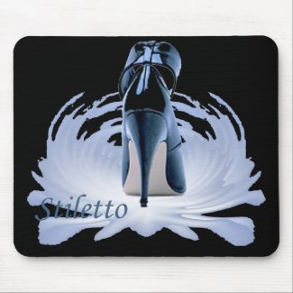 Classy Stiletto Mouse Pad mousepad