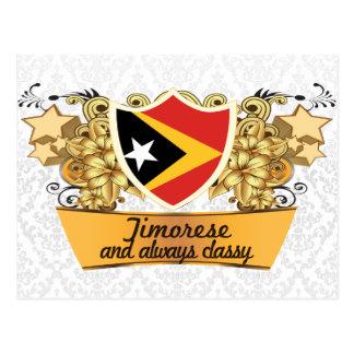 Classy Timorese Postcard