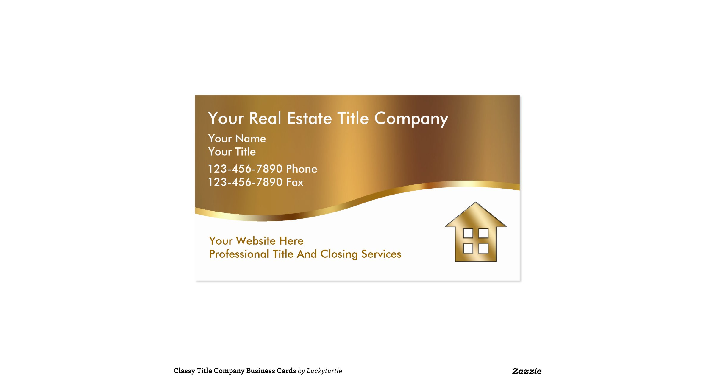 Classy title company business cards for Business development titles for business cards