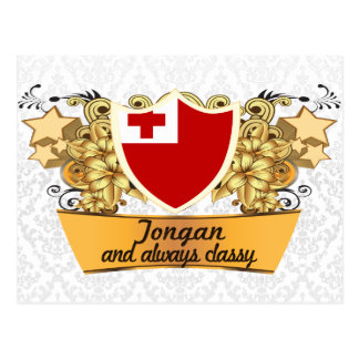 Classy Tongan Postcard