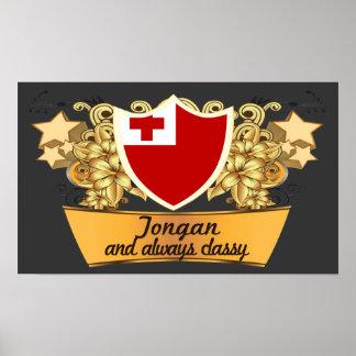 Classy Tongan Poster