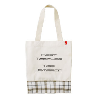 Classy Tote Bag, Teacher Thank You Gift Zazzle HEART Tote Bag