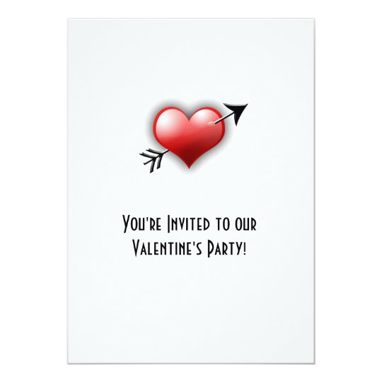 Classy Valentine's Party Invitation