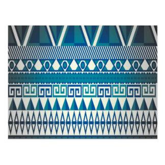 Classy Vintage Design Aztec Art Postcard