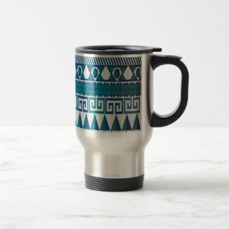 Classy Vintage Design Aztec Art Travel Mug