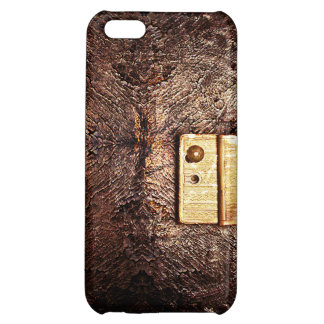 Classy vintage leather cover for iPhone 5C