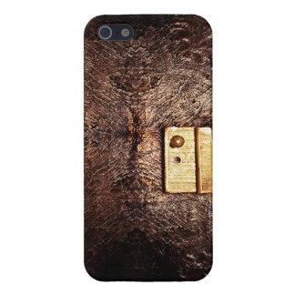 Classy vintage leather iPhone SE/5/5s case