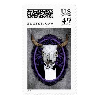 Classy vintage skull stamps