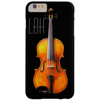 Classy Viola iPhone Cover with Monogram Barely There iPhone 6 Plus Case