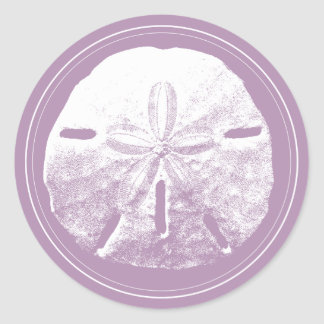 Sand Dollar Stickers | Zazzle