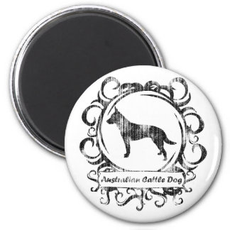 Classy Weathered Australian Cattle Dog Magnet