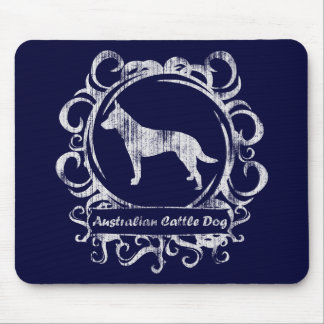 Classy Weathered Australian Cattle Dog Mouse Pad