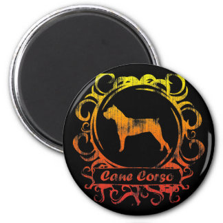 Classy Weathered Cane Corso Magnet