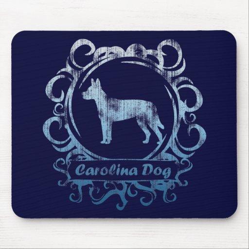 Classy Weathered Carolina Dog Mouse Pad