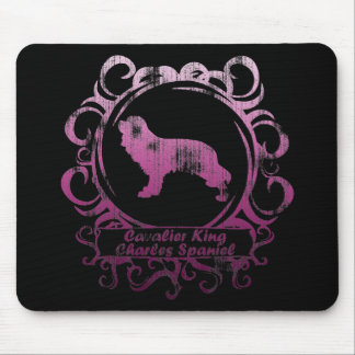 Classy Weathered Cavalier King Charles Spaniel Mousepad