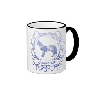 Classy Weathered Chinook Ringer Mug