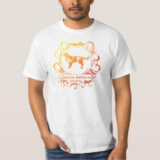 Classy Weathered Golden Retriever T-Shirt