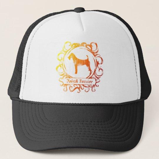 Classy Weathered Irish Terrier Trucker Hat