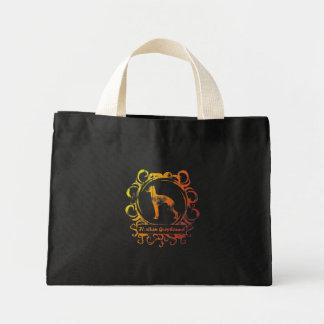 Classy Weathered Italian Greyhound Bag