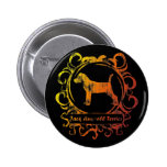 Classy Weathered Jack Russell Terrier Button