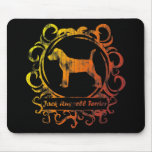 Classy Weathered Jack Russell Terrier Mousepad