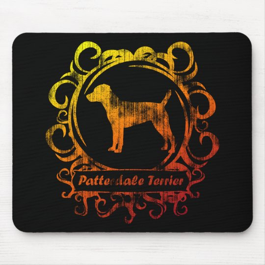 Classy Weathered Patterdale Terrier Mouse Pad