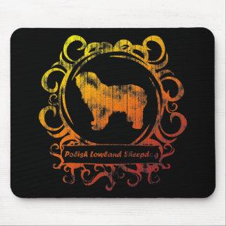 Classy Weathered Polish Lowland Sheepdog Mouse Pad