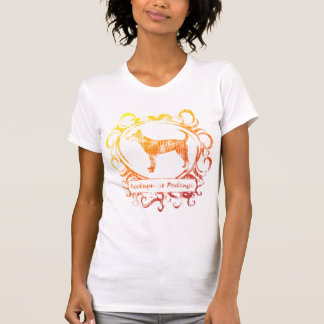 Classy Weathered Portuguese Podengo Tee Shirt