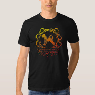 Classy Weathered Portuguese Water Dog T-shirt