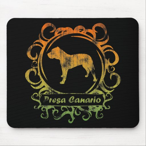 Classy Weathered Presa Canario Mouse Pad