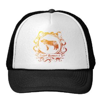 Classy Weathered Saint Bernard Trucker Hat