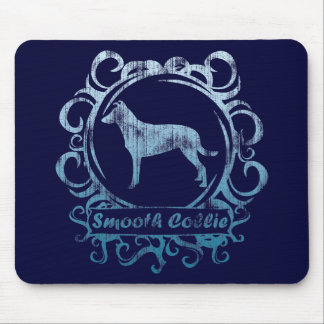 Classy Weathered Smooth Collie Mouse Pad