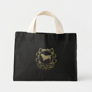 Classy Weathered Sussex Spaniel Mini Tote Bag
