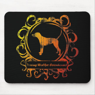 Classy Weathered Treeing Walker Coonhound Mouse Pad